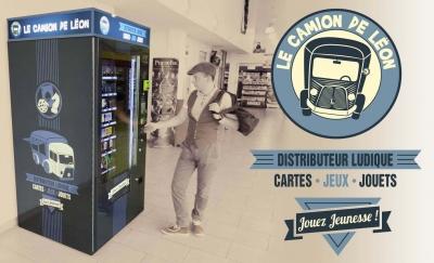 création logo camion Lëon