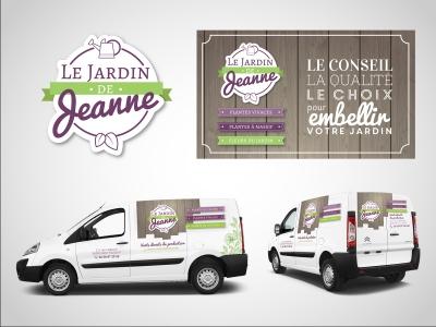 création logo Jardin de Jeanne