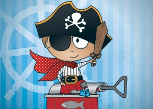Illustrateur Ludivine You pirate