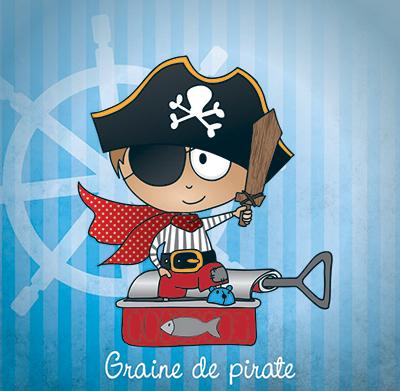 Illustrateur Ludivine You pirate