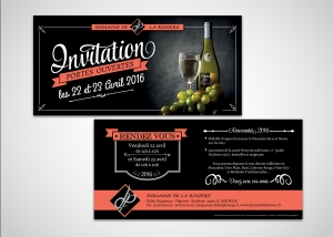 graphiste caviste invitation
