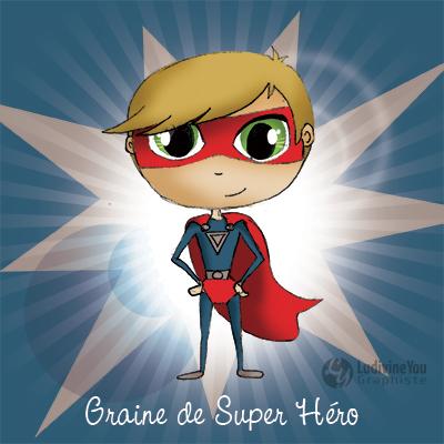 illustrateur freelance super hero
