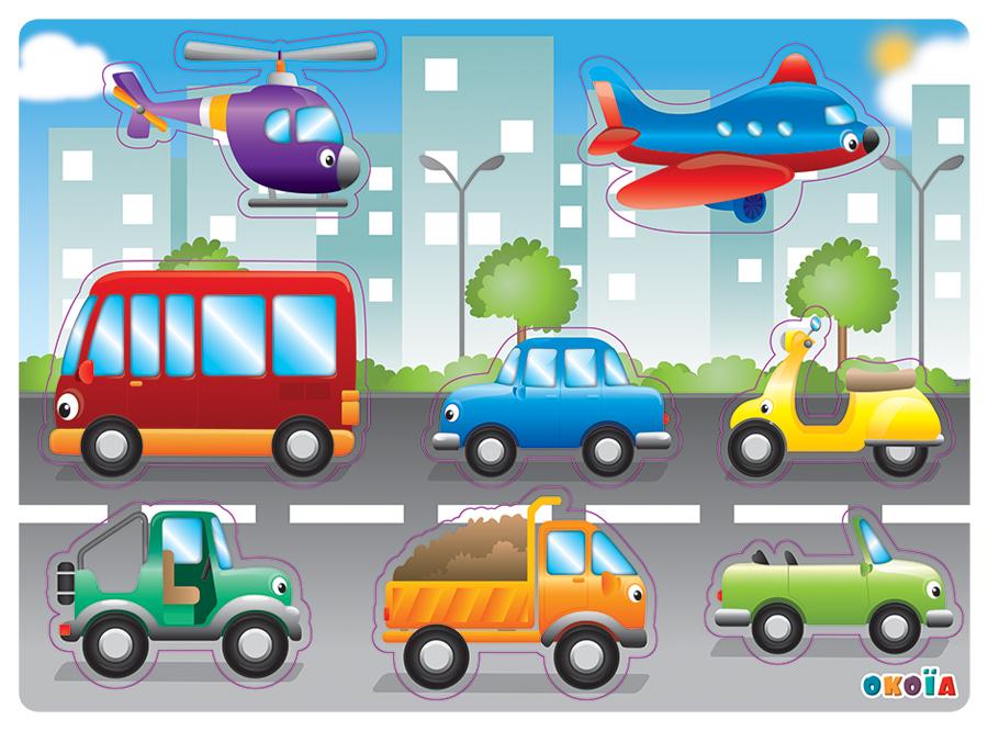 illustrateur freelance puzzle véhicules