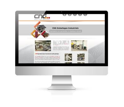 Création de site internet - CNG emballages