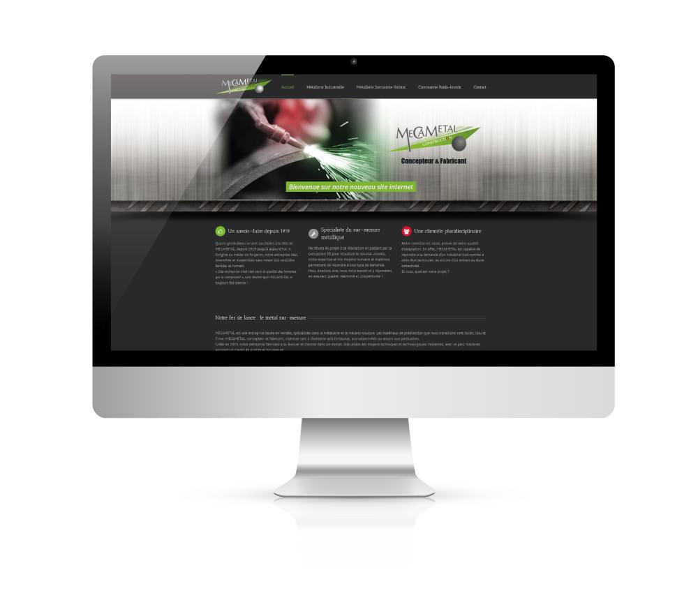Création du site internet Mecametal