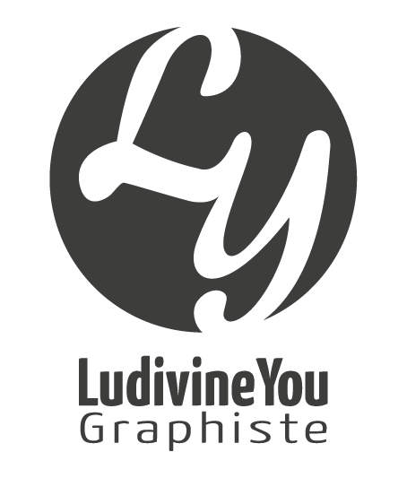 Ludivine You Graphiste Logo