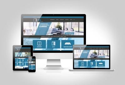 Identité visuelle et site web de Lainé SARL