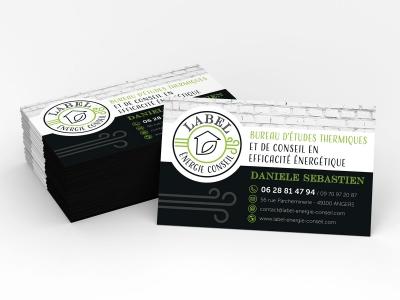 Logo et Identité Visuelle Label Energie Conseil
